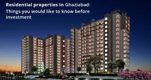 Residential Properties in Ghaziabad