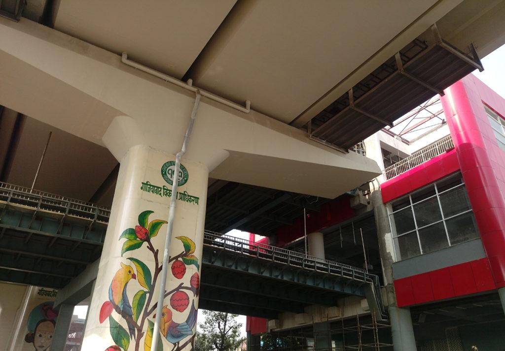 New Bus Adda metro station