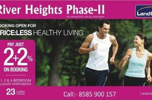 Prices:Less Luxury Flats in Ghaziabad