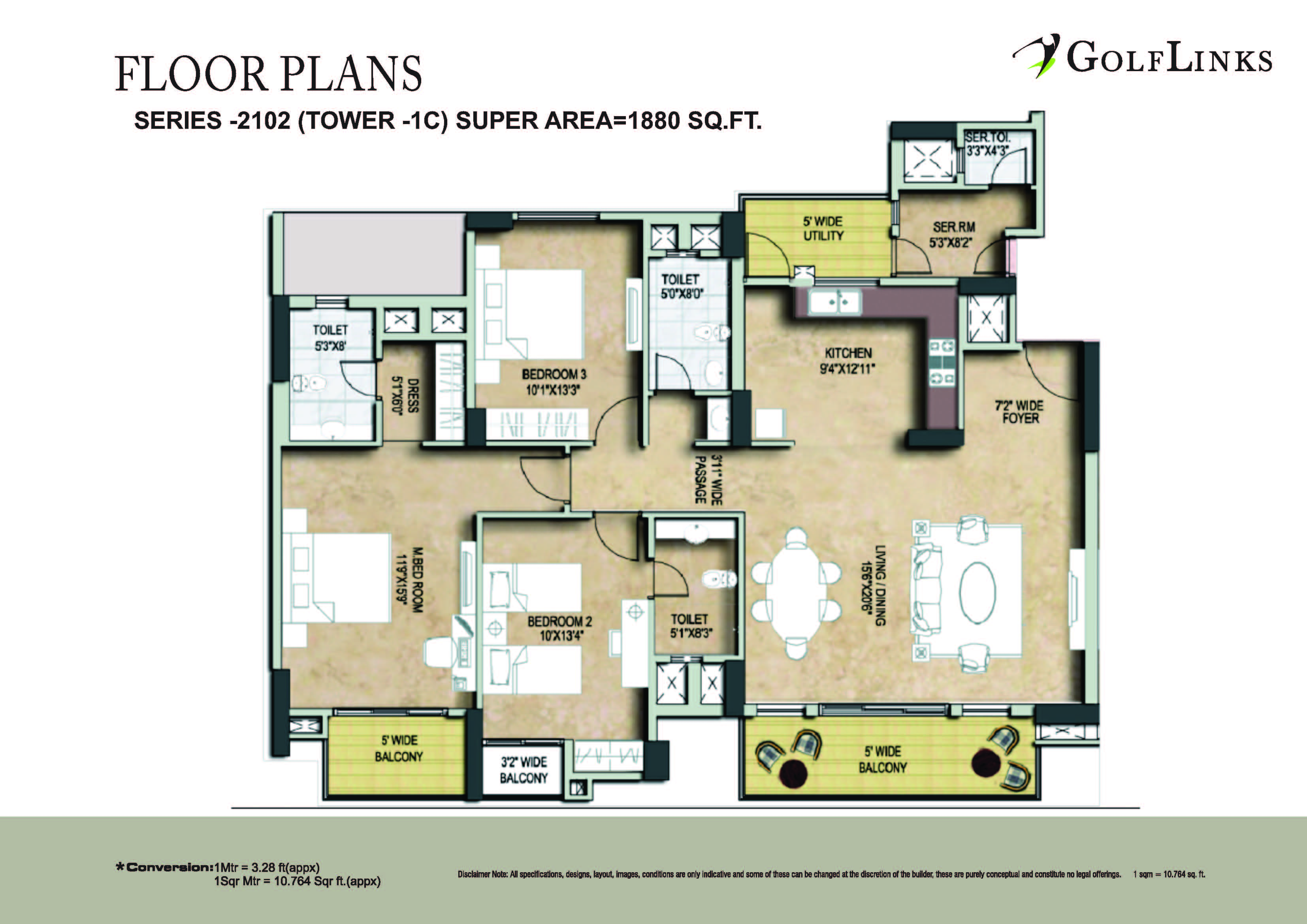 golflinks phase1 floor plan landcraft developers